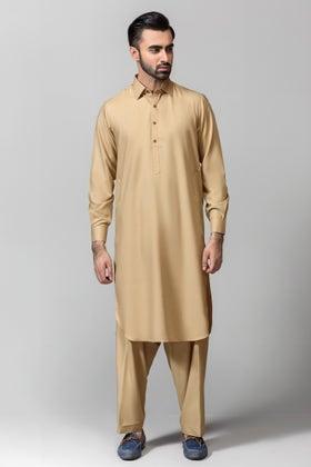 Beige Gul 900 Kargar Unstitched Fabric