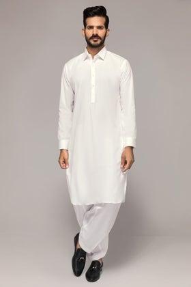 Off White Unstitched Fabric Hi Tex Twill-Crown-UF