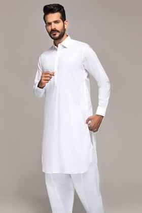 White Unstitched Fabric GUL VEROSSA