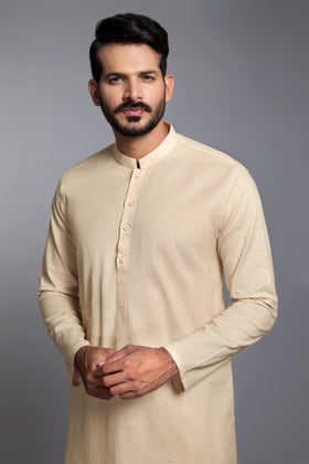 Natural Unstitched Fabric Omega