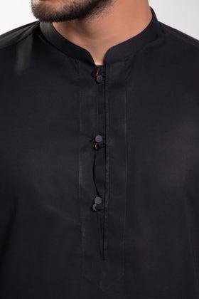 Black Unstitched Fabric US PIMA 20