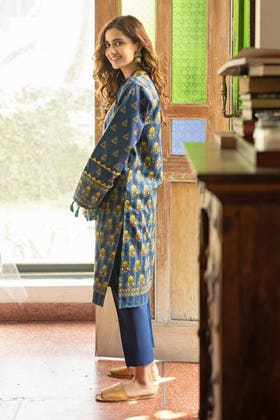 2 Piece Unstitched Lawn Printed Suit TL-326 B