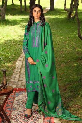 3PC Unstitched Pashmina Suit AP-12041