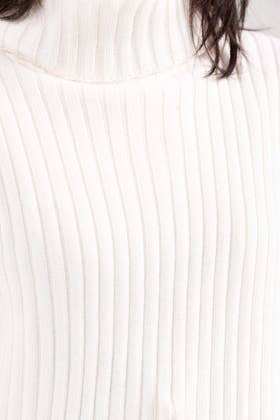 Cotton High Neck Pull Over Sweater  SWT-FW21-031 A
