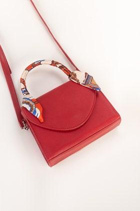 Red Hand Bag IDB-21-37