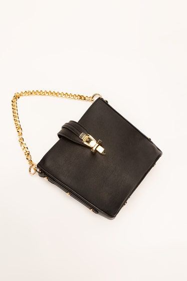 Black Hand Bag IDB-21-59