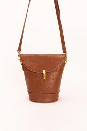 Brown Hand Bag IDB-21-64