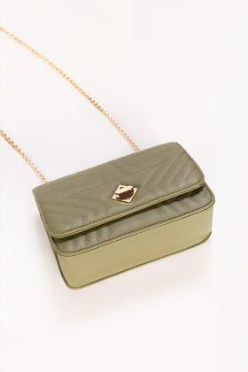 Green Hand Bag IDB-21-106