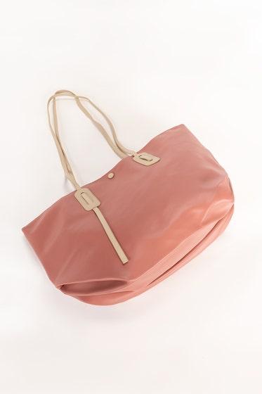 Pink & Beige Hand Bag IDB-21-102