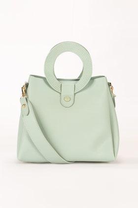 Green Hand Bag IDB-21-106 -1
