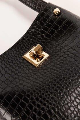 Black Hand Bag IDB-21-113