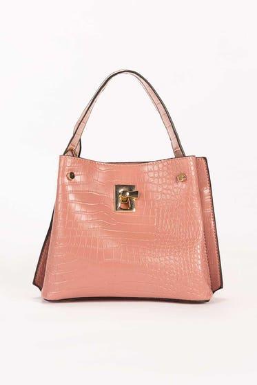 Pink Hand Bag IDB-21-113 -1