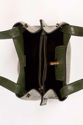 Green Hand Bag IDB-21-113 -1