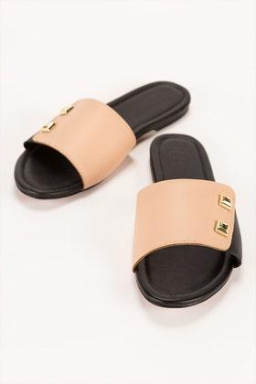 Black & Pink Slipper IDFT-21-59