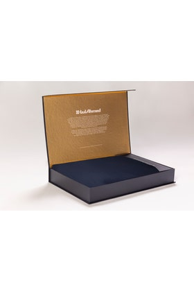 Navy Unstitched Fabric With Gift Box X-Series - Exclusive Collection Opal