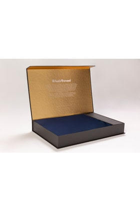 Navy Unstitched Fabric With Gift Box X-Series - Exceptional Collection Artisan