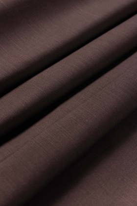 Chocolate Brown Unstitched Fabric CASHMERE KHADDAR