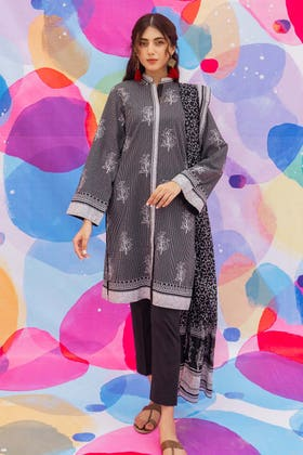2 Piece Unstitched Lawn Printed Suit TL-315 A