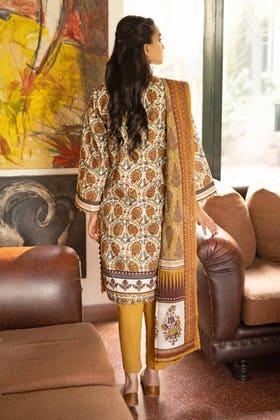 3 Piece Unstitched Lawn Printed Suit CL-1265 B