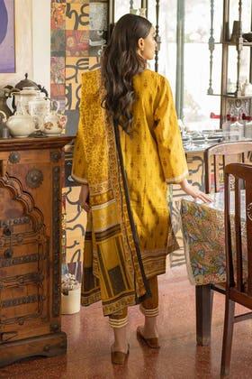 3 Piece Unstitched Lawn Printed Suit CL-1325 B