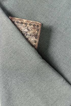 Grey Unstitched Fabric OPUS ARZ