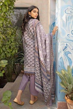 3 Piece Unstitched Lawn Printed Suit CL-1260 B