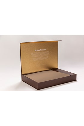 Camel Unstitched Fabric With Gift Box X-Series - Executive Collection Emerald