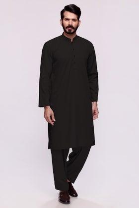 Black Unstitched Fabric PRIMO