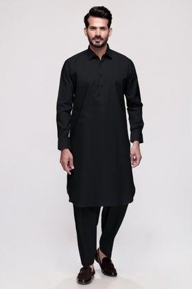 Black Unstitched Fabric AMERICAN PIMA