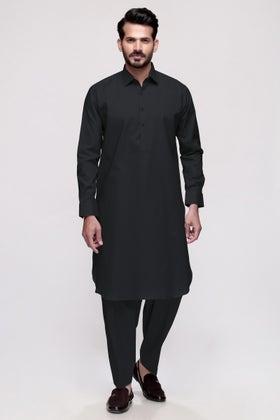 Black Unstitched Fabric Councilor