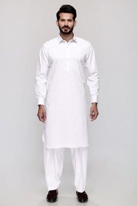 White Unstitched Fabric Tanabana Royal YN#11