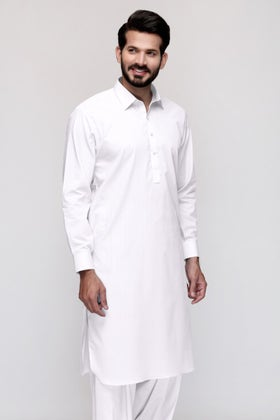 White Unstitched Fabric Opus Momento