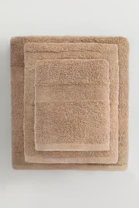 Almond COMBED TOWEL PLAIN