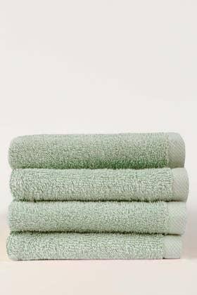Aqua Fair Combed 4 Pcs Face Towel Set