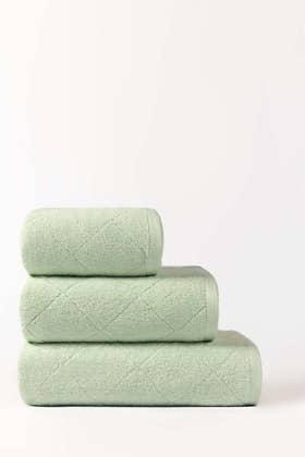 Aqua Fair Combed Jacquard Towel