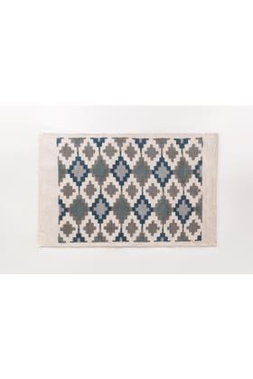 Aztec Screen Printed Rug