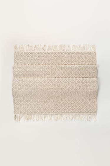 Beige Greek Yarn Dyed Rug