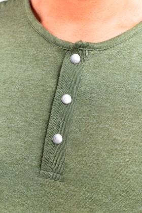 Half Sleeves Snap Henley WG-LW-21-03 B