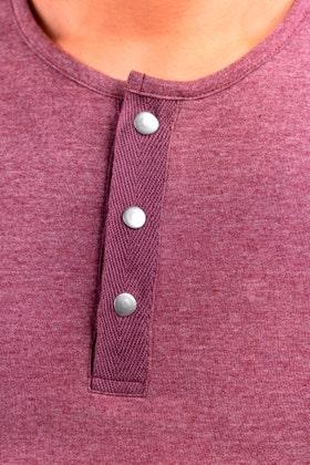 Half Sleeves Snap Henley WG-LW-21-03 C