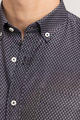 Black Dobby Formal Shirt CM-YD-2888