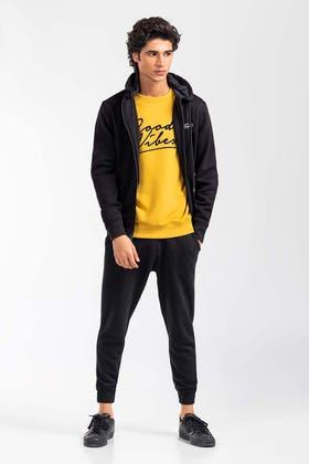 Black Fashion  Hoodie JKT-HZJ-D48-04