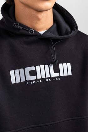 Black Fashion Hoodie JKT-POH-D15-02