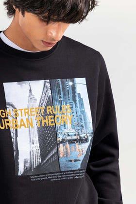 Black Fashion Sweatshirt JKT-MSS-D24-02