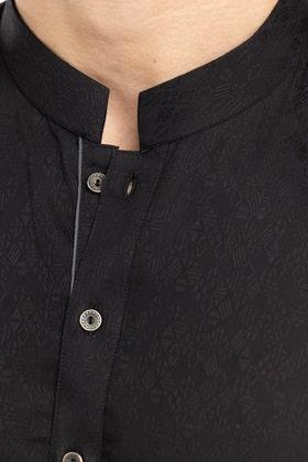 Black Fashion Kurta KS-880