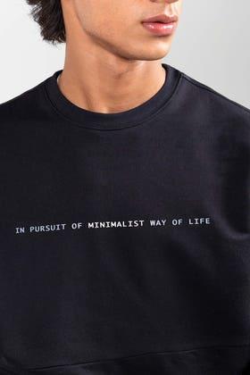 Black Fashion Sweatshirt JKT-MSS-D21-01