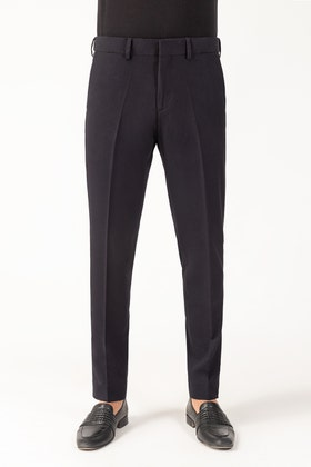 Black Flexi Waist Pants BLDFIP_006_SF