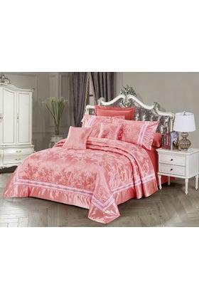 BLOSSOM Jacquard Bed Spread Set