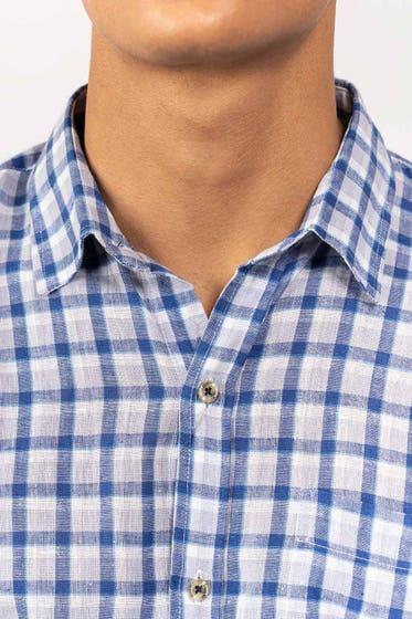 Blue-White Casual Shirt CM-YD-2873 CS HS