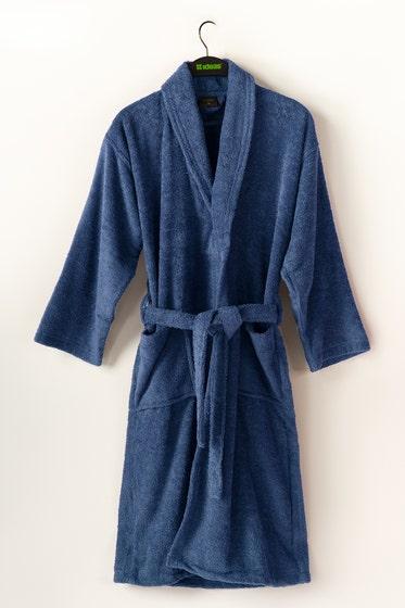 Blue Combed Bathrobe