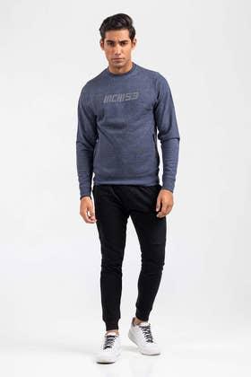 Blue Fashion Sweatshirt JKT-MSS-D23-04